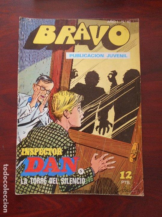 BRAVO Nº 10 - INSPECTOR DAN Nº 5 - BRUGUERA (7M) (Tebeos y Comics - Bruguera - Bravo)