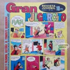 Tebeos: GRAN PULGARCITO Nº 62 - AÑO II - REVISTA JUVENIL - BRUGUERA - JMV. Lote 183268513