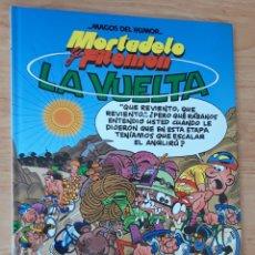 Tebeos: MORTADELO Y FILEMON LA VUELTA MAGOS DEL HUMOR EDICIONES B TAPA DURA. Lote 183274356