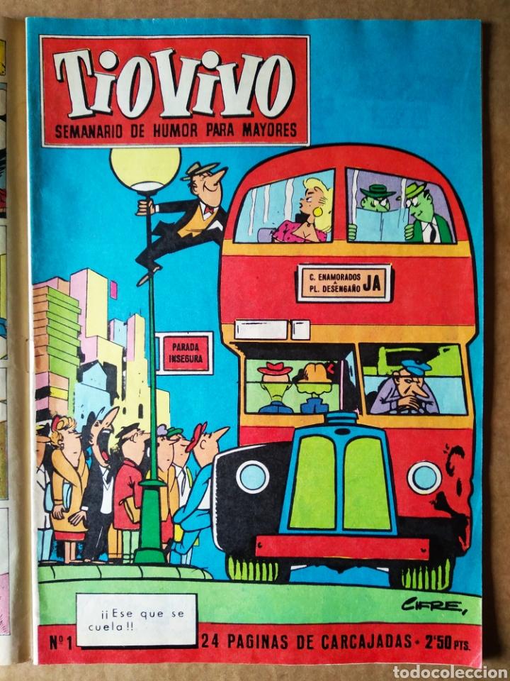 Tebeos: Tío Vivo número 1000 (Bruguera, 1980). 52 páginas a color. Con póster de Ibáñez. - Foto 3 - 183289557