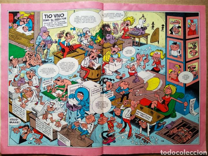 Tebeos: Tío Vivo número 1000 (Bruguera, 1980). 52 páginas a color. Con póster de Ibáñez. - Foto 5 - 183289557