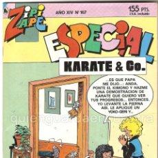 Tebeos: COMIC ZIPI Y ZAPE ESPECIAL 167 KARATE & CO.. Lote 183300342