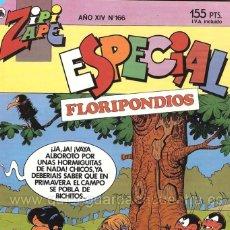 Tebeos: COMIC ZIPI Y ZAPE ESPECIAL 166 FLORIPONDIOS. Lote 183303205