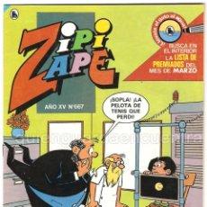 Tebeos: COMIC ZIPI Y ZAPE 667 AÑO XIV NUEVO 1986. Lote 183303553