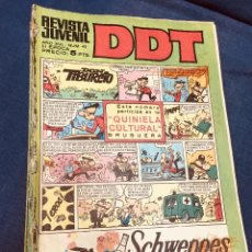 Tebeos: LOTE 7 COMIC REVISTA JUVENIL DDT AÑO XVI EPOCA III. Lote 183304878