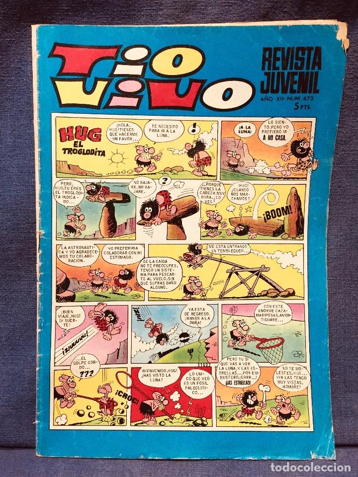 COMIC REVISTA JUVENIL TIO VIVO AÑO XII NUMERO 473 (Tebeos y Comics - Bruguera - Tio Vivo)