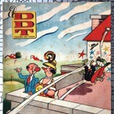 Tebeos: EL DDT CONTRA LAS PENAS 31 (XXXI) 1951. ORIGINAL (DIFICIL Y ESCASO). MUY BUEN ESTADO. DIBUJO CIFRE. Lote 183325258