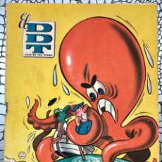 Tebeos: EL DDT CONTRA LAS PENAS 75 (BRUGUERA 1952). ORIGINAL. DEFECUOSO. DIBUJANTE CIFRÉ. Lote 183329337