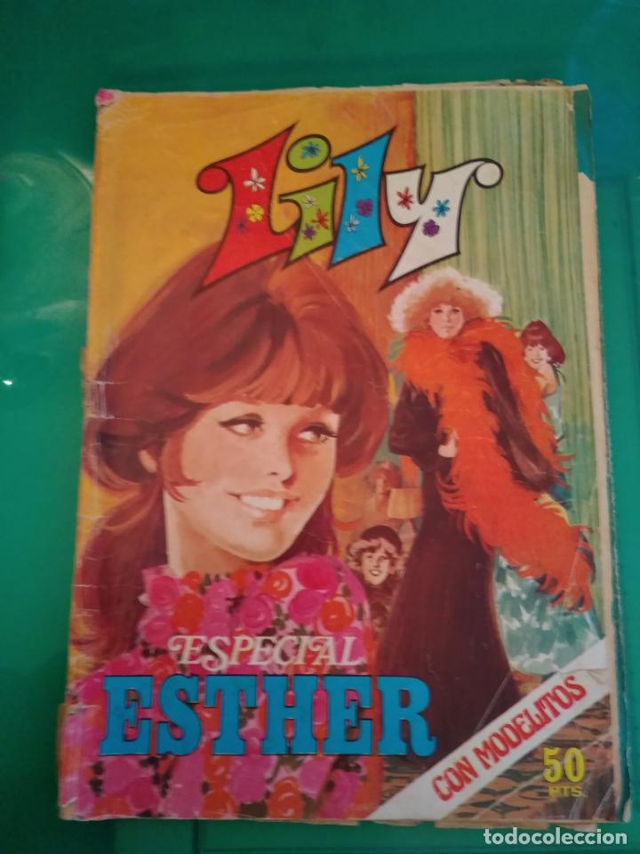LILY - ESPECIAL ESTHER Nº 2 - CON MODELITOS (Tebeos y Comics - Bruguera - Esther)