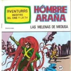 Tebeos: Nº 27 SPIDERMAN-EL HOMBRE Y LA MUJER ARAÑA-HULK-AVENTURAS CINE- TV NUEVO AÑOS 80. Lote 183404523