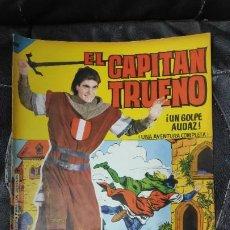Tebeos: CAPITAN TRUENO ALBUM GIGANTE Nº 20 ILUSTRACIONES A. PARDO UNA AVENTURA COMPLETA. Lote 183406052