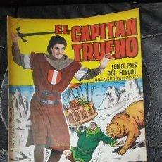 Tebeos: CAPITAN TRUENO ALBUM GIGANTE Nº 22 ILUSTRACIONES A. PARDO UNA AVENTURA COMPLETA. Lote 183407176