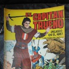 Tebeos: CAPITAN TRUENO ALBUM GIGANTE Nº 23 ILUSTRACIONES A.PARDO UNA AVENTURA COMPLETA. Lote 183409076