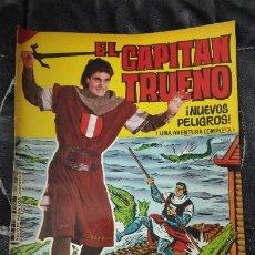 Tebeos: CAPITAN TRUENO ALBUM GIGANTE Nº 25 ILUSTRACIONES A. PARDO UNA AVENTURA COMPLETA. Lote 183416485