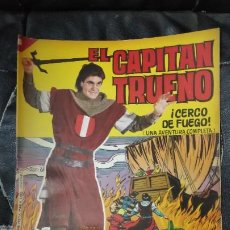 Tebeos: CAPITAN TRUENO ALBUM GIGANTE Nº 26 ILUSTRACIONES A. PARDO UNA AVENTURA COMPLETA. Lote 183418801