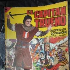 Tebeos: CAPITAN TRUENO ALBUM GIGANTE Nº 27 ILUSTRACIONES A. PARDO UNA AVENTURA COMPLETA. Lote 183419276