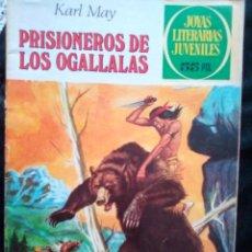 Tebeos: JOYAS LITERARIAS JUVENILES- Nº 163 -PRISIONEROS DE LOS OGALLALAS-3ª ED.1981-GRAN CERÓN-LEAN-2364. Lote 183425003