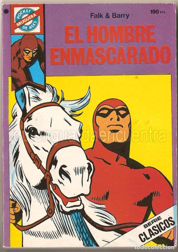 Nº 39 EL HOMBRE ENMASCARADO POCKET DE ASES BRUGUERA SERIE CLÁSICOS 1985 NUEVO. (Tebeos y Comics - Bruguera - Cuadernillos Varios)