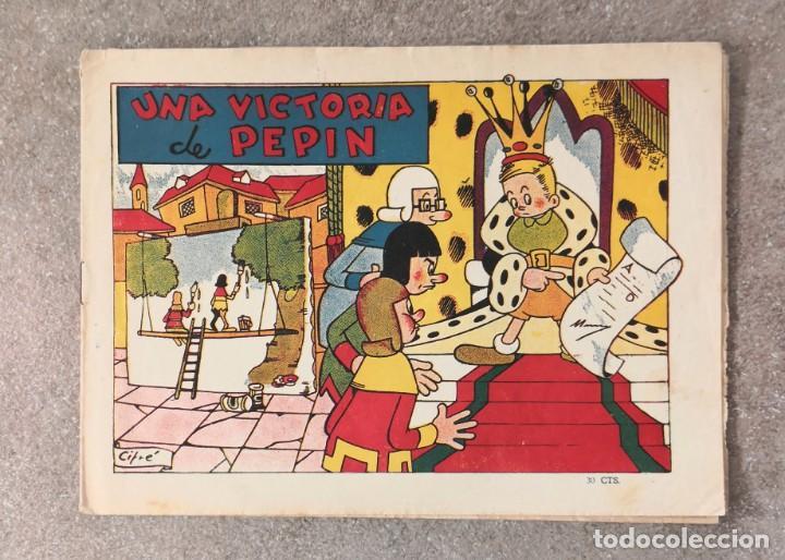 PEPÍN. BRUGUERA AÑOS 40. CIFRÉ. (Tebeos y Comics - Bruguera - Cuadernillos Varios)