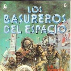 Tebeos: LOS BASUREROS DEL ESPACIO 8-SEMANARIO DE BRUGUERA NOVELADO CON VIÑETAS NUEVO 1986. Lote 183460963