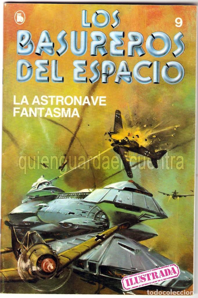 LOS BASUREROS DEL ESPACIO 9-SEMANARIO DE BRUGUERA NOVELADO CON VIÑETAS NUEVO 1986 (Tebeos y Comics - Bruguera - Cuadernillos Varios)