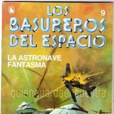 Tebeos: LOS BASUREROS DEL ESPACIO 9-SEMANARIO DE BRUGUERA NOVELADO CON VIÑETAS NUEVO 1986. Lote 183461050