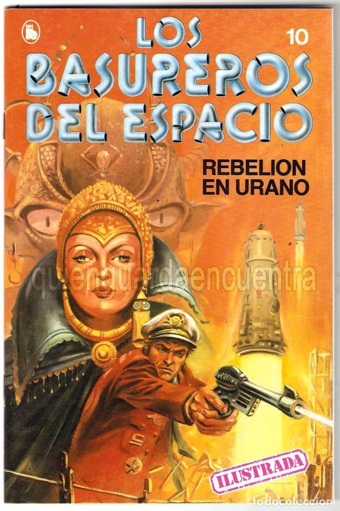 LOS BASUREROS DEL ESPACIO 10-SEMANARIO DE BRUGUERA NOVELADO CON VIÑETAS NUEVO 1986 (Tebeos y Comics - Bruguera - Cuadernillos Varios)