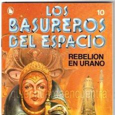 Tebeos: LOS BASUREROS DEL ESPACIO 10-SEMANARIO DE BRUGUERA NOVELADO CON VIÑETAS NUEVO 1986. Lote 183461122