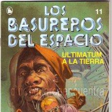 Tebeos: LOS BASUREROS DEL ESPACIO 11-SEMANARIO DE BRUGUERA NOVELADO CON VIÑETAS NUEVO 1986. Lote 183461190