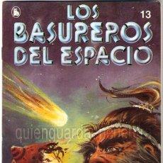 Tebeos: LOS BASUREROS DEL ESPACIO 13-SEMANARIO DE BRUGUERA NOVELADO CON VIÑETAS NUEVO 1986. Lote 183461546