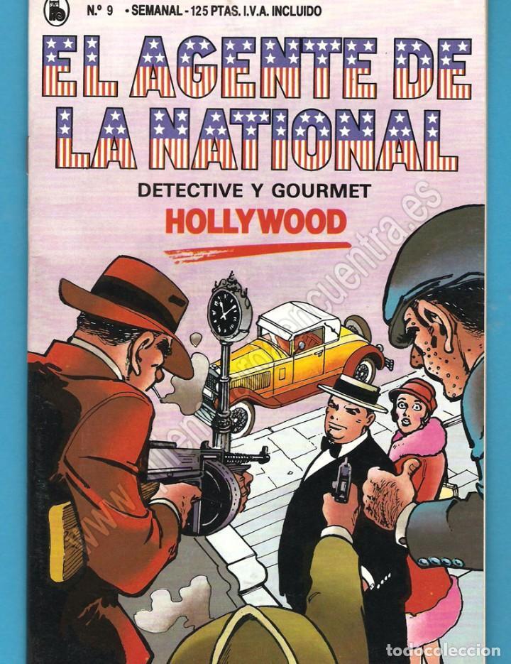EL AGENTE DE LA NATIONAL 9-SEMANARIO DE BRUGUERA NOVELADO CON VIÑETAS NUEVO 1986 (Tebeos y Comics - Bruguera - Cuadernillos Varios)