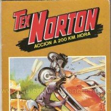 Tebeos: TEX NORTON-MOTOS-SELECCIÓN Nº 1-BRUGUERA-NÚMEROS-7-8-9-10-POSTERS-NUEVO.. Lote 183465567