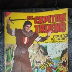 Tebeos: CAPITAN TRUENO ALBUM GIGANTE Nº 28 ILUSTRACIONES A. PARDO UNA AVENTURA COMPLETA. Lote 183468931
