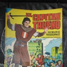 Tebeos: CAPITAN TRUENO ALBUM GIGANTE Nº 31 ILUSTRACIONES A . PARDO UNA AVENTURA COMPLETA. Lote 183473850