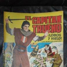 Tebeos: CAPITAN TRUENO ALBUM GIGANTE Nº 32 ILUSTRACIONES A . PARDO UNA AVENTURA COMPLETA. Lote 183474260