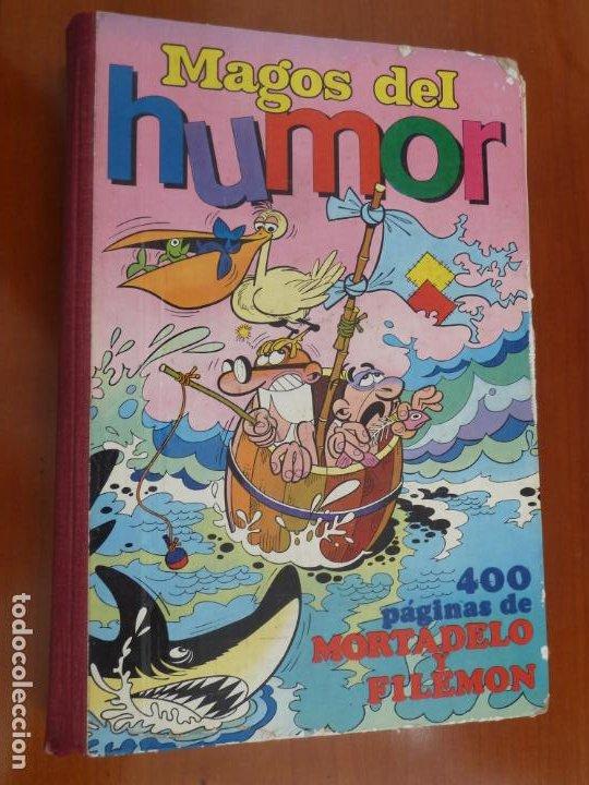 MAGOS DEL HUMOR Nº XVII 17 BRUGUERA MORTADELO Y FILEMON BUEN ESTADO (Tebeos y Comics - Bruguera - Super Humor)