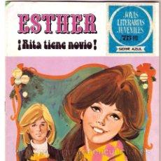 Tebeos: ESTHER-JOYAS LITERARIAS JUVENILES-SERIE AZUL-Nº 9-AÑO 1981 NUEVO. Lote 183491711