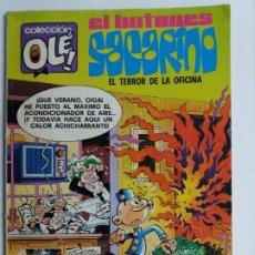 Tebeos: EL BOTONES SACARINO. EL TERROR DE LA OFICINA. COLECCIÓN OLÉ. BRUGUERA.1979.. Lote 183499828