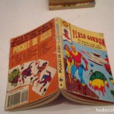 Tebeos: POCKET DE ASES - BRUGUERA - NUMERO 25 - FLASH GORDON - NORMAL ESTADO - GORBAUD - CJ 32. Lote 183507642