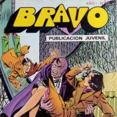 Tebeos: BRAVO Nº 22 -INSPECTOR DAN- Nº 11 -MAGISTRAL JORGE MACABICH-CERCO MORTAL-1976-BUENO-LEAN- 2374. Lote 183529488