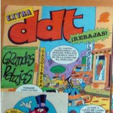 Tebeos: DDT EXTRA GRANDES REBAJAS-Nº 76-BRUGUERA-1985 AÑO XXXIV NUEVO. Lote 183545558