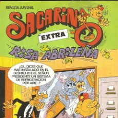 Tebeos: SACARINO EXTRA RISA ABRILEÑA COMIC Nº 86 BRUGUERA 1983 AÑO X NUEVO. Lote 183545777