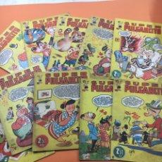 "Tebeos: SUPER PULGARCITO N"" 5-6-8-10-12-15-16-17-18-27-31. Lote 183551942"