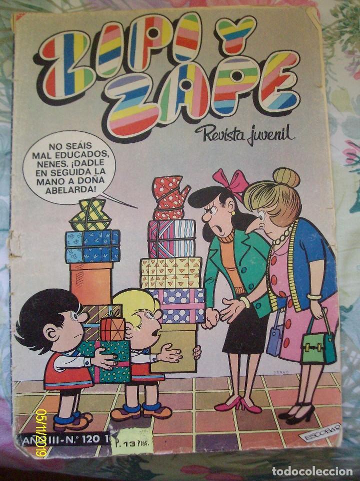 ZIPI Y ZAPE Nº 120 BRUGUERA (Tebeos y Comics - Bruguera - Mortadelo)