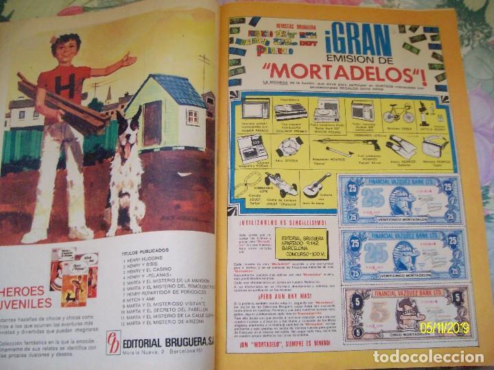 Tebeos: MORTADELO Nº 44 BRUGUERA CONTIENE LOS BILLETES - Foto 2 - 183608326