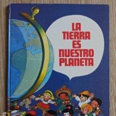 Tebeos: LA TIERRA ES NUESTRO PLANETA JAN - BRUGUERA AÑO 1979 TAPA DURA. Lote 183653607