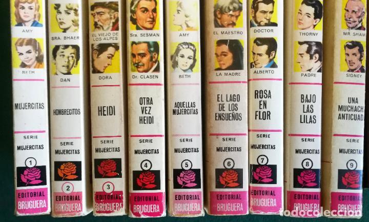 Tebeos: HISTORIAS SELECCIÓN - SERIE MUJERCITAS 1 COMPLETA (9) - HOMBRECITOS HEIDI ROSA EN FLOR - Foto 3 - 183685673