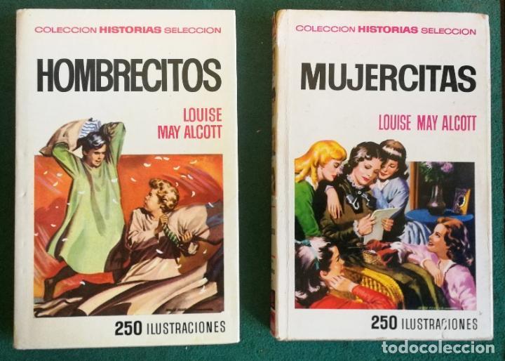 Tebeos: HISTORIAS SELECCIÓN - SERIE MUJERCITAS 1 COMPLETA (9) - HOMBRECITOS HEIDI ROSA EN FLOR - Foto 8 - 183685673