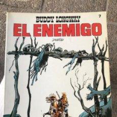 Tebeos: BUDDY LONGWAY 7 EL ENEMIGO DERIB EDITORIAL BRUGUERA 1983. Lote 183699567