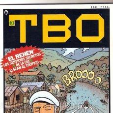 Tebeos: NUEVO TBO BRUGUERA 1-2-3-4-5- ÉPOCA 4, SEMANARIO DIVERSIÓN REFLEXIÓN. 1986 LOTE DE 5 COMICS. Lote 183728100